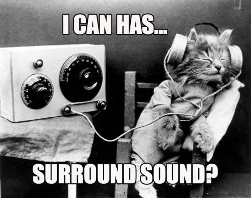 can i has surround sound?